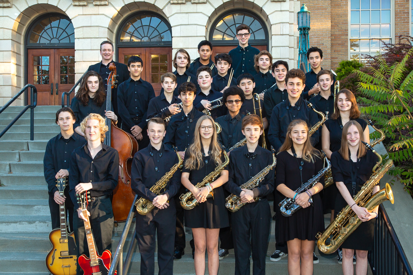 Roosevelt Jazz Band 3, 2018-19